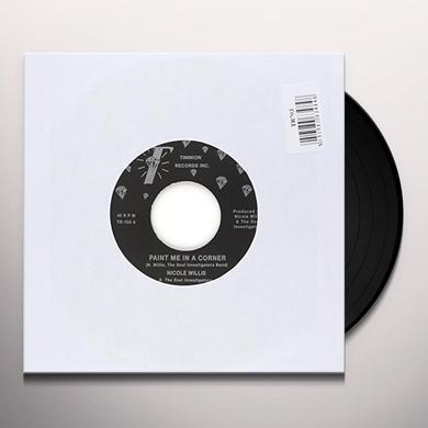 Nicole Willis PAINT ME IN A CORNER Vinyl Record - UK Import