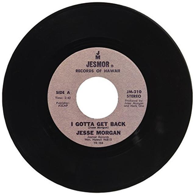Jesse Morgan I GOTTA GET BACK Vinyl Record
