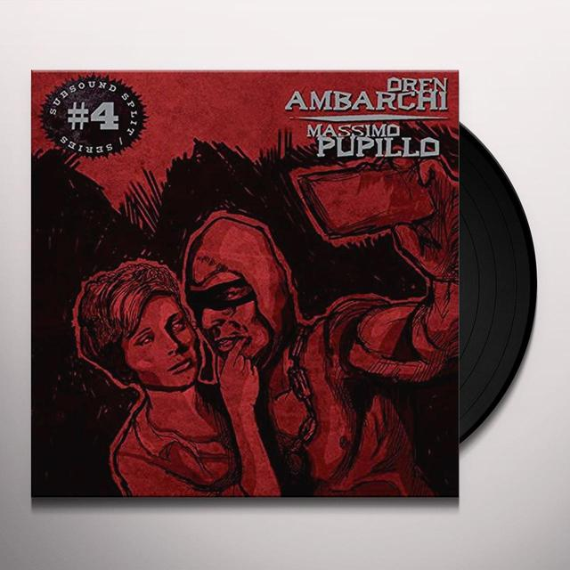 Oren Ambarchi / Massimo Pupillo SUBSOUND SPLIT SERIES NO. 4 Vinyl Record - UK Import