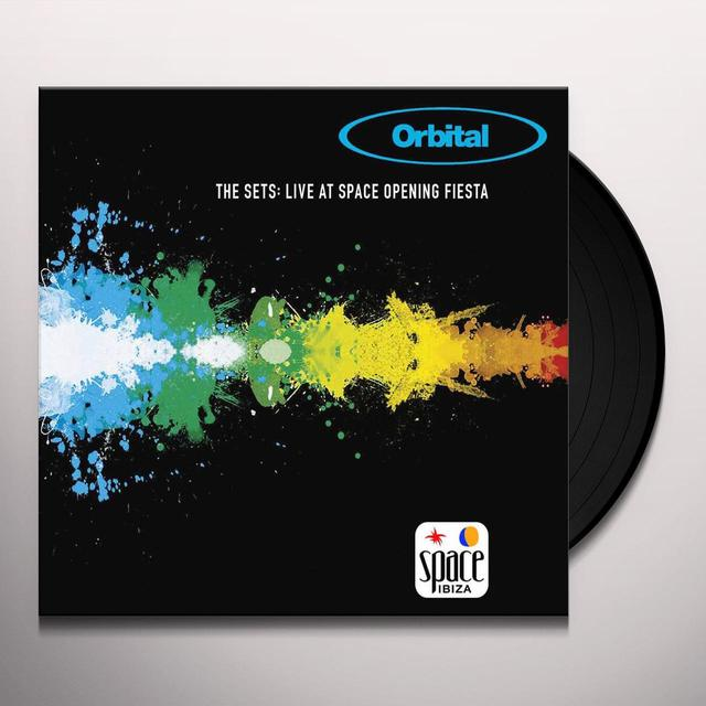 Orbital SET: LIVE AT THE OPENING FIESTA Vinyl Record - UK Import