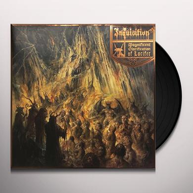Inquisition MAGNIFICENT GLORIFICATION OF LUCIFER (GREY VINYL) Vinyl Record