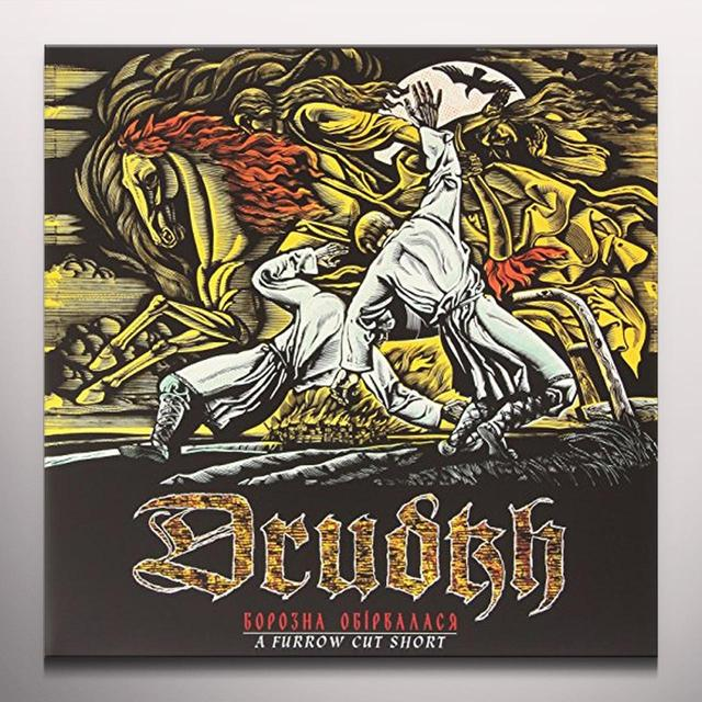 Drudkh FURROW CUT SHORT (WHITE VINYL) Vinyl Record - Colored Vinyl, UK Import