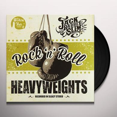 Jack Rabbit Slim ROCK N ROLL HEAVYWEIGHTS: LIMITED Vinyl Record - Limited Edition, UK Import