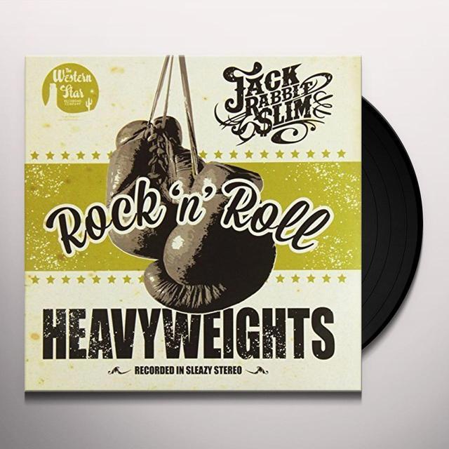 Jack Rabbit Slim ROCK N ROLL HEAVYWEIGHTS: LIMITED Vinyl Record - Limited Edition, UK Import