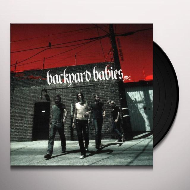 Backyard Babies STOCKHOLM SYNDROME Vinyl Record - Holland Import