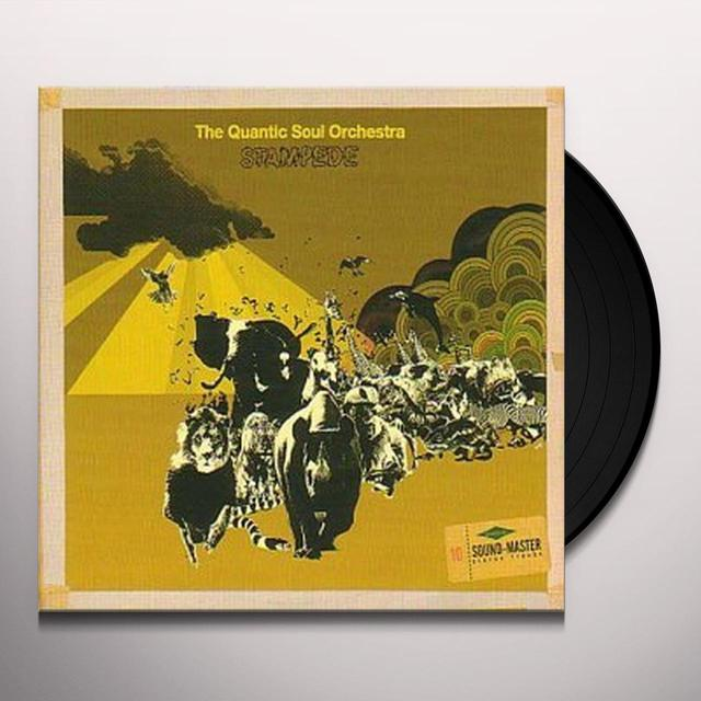 QUANTIC SOUL ORC STAMPEDE Vinyl Record - UK Release