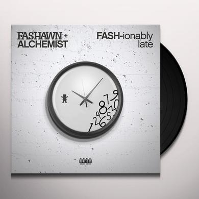Fashawn x Alchemist FASH-IONABLY LATE Vinyl Record