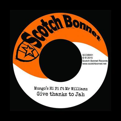 MUNGO'S HI-FI GIVE THANKS TO JAH Vinyl Record