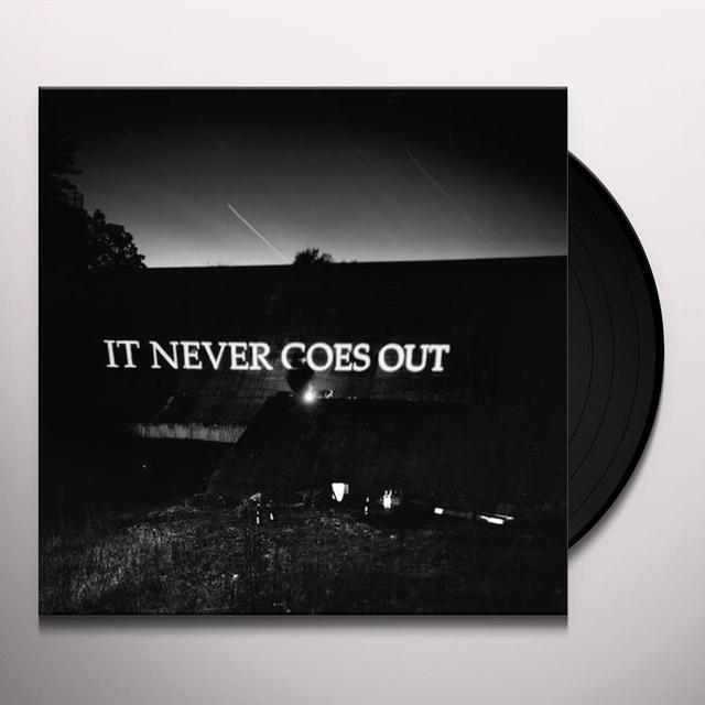 HOTELIER IT NEVER GOES OUT Vinyl Record - Black Vinyl, Digital Download Included