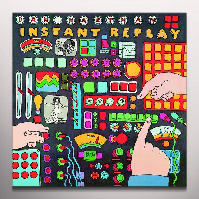 Dan Hartman INSTANT REPLAY Vinyl Record - Colored Vinyl, 180 Gram Pressing, Red Vinyl