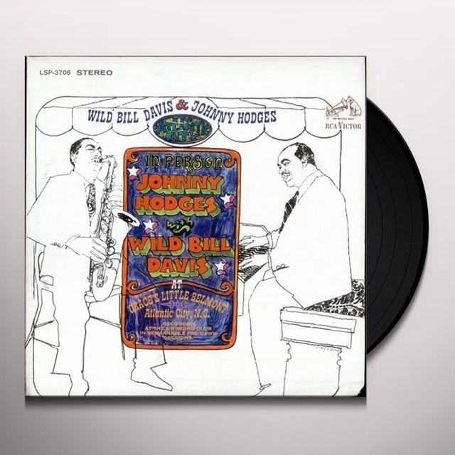 Johnny Hodges & Wild Bill Davis IN ATLANTIC CITY Vinyl Record - 180 Gram Pressing