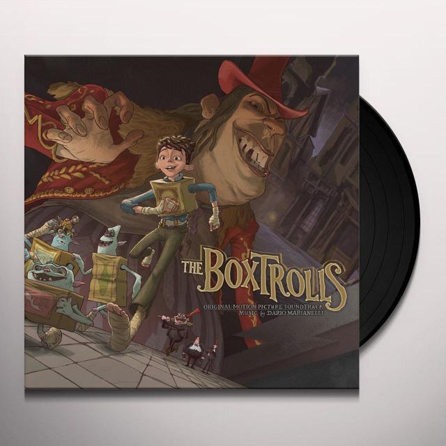 Dario Marianelli BOX TROLLS / O.S.T. Vinyl Record