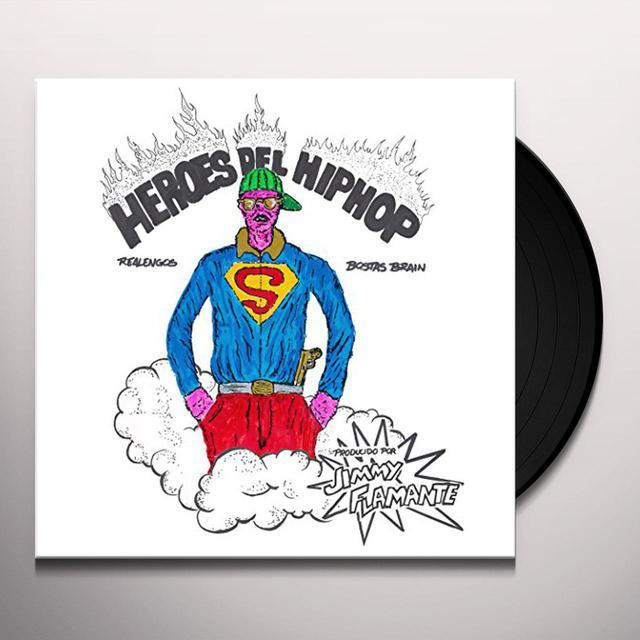 BOSTAS BRAIN HEROES DEL HIP HOP Vinyl Record