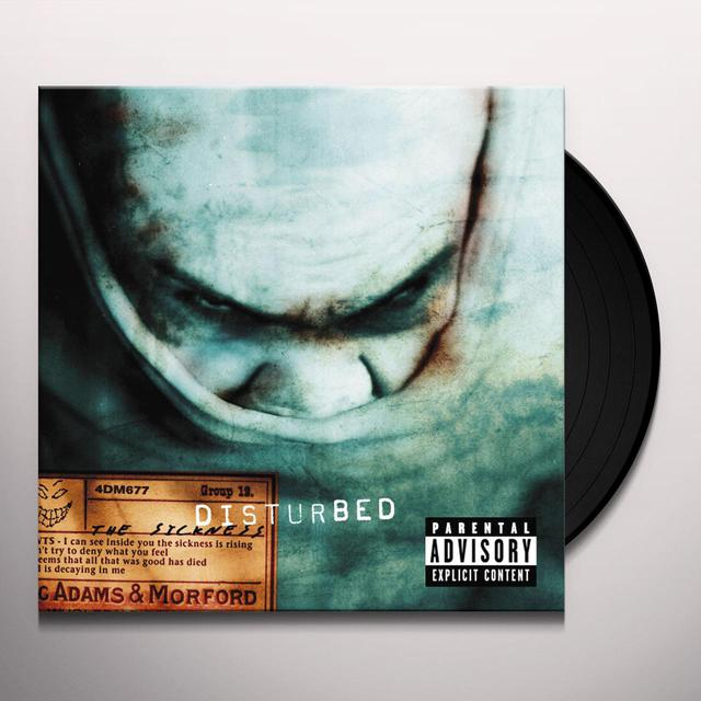 Disturbed SICKNESS Vinyl Record