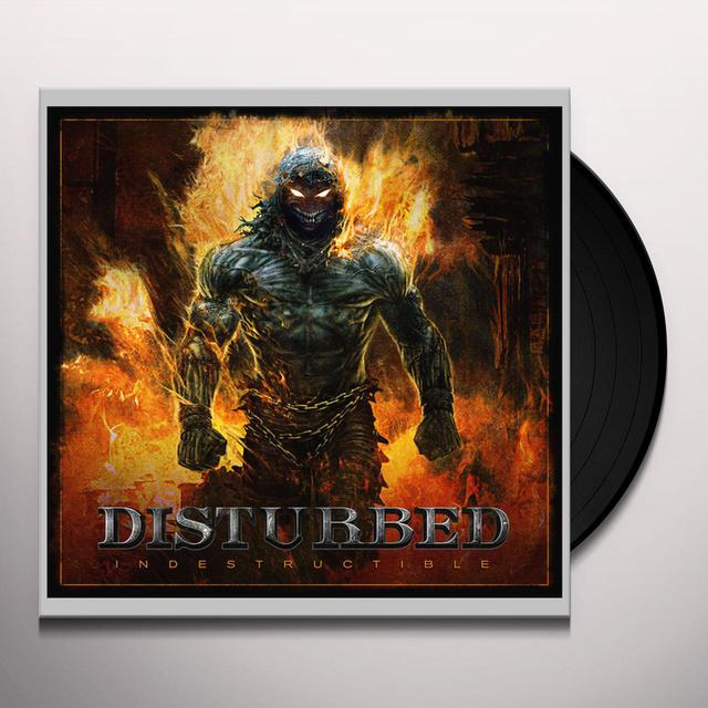 Disturbed INDESTRUCTIBLE Vinyl Record