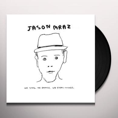 Jason Mraz WE SING WE DANCE WE STEAL THINGS Vinyl Record