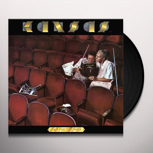 Kansas TWO FOR THE SHOW Vinyl Record