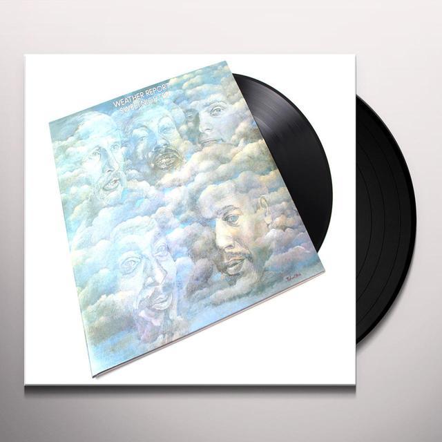 Weather Report SWEETNIGHTER Vinyl Record