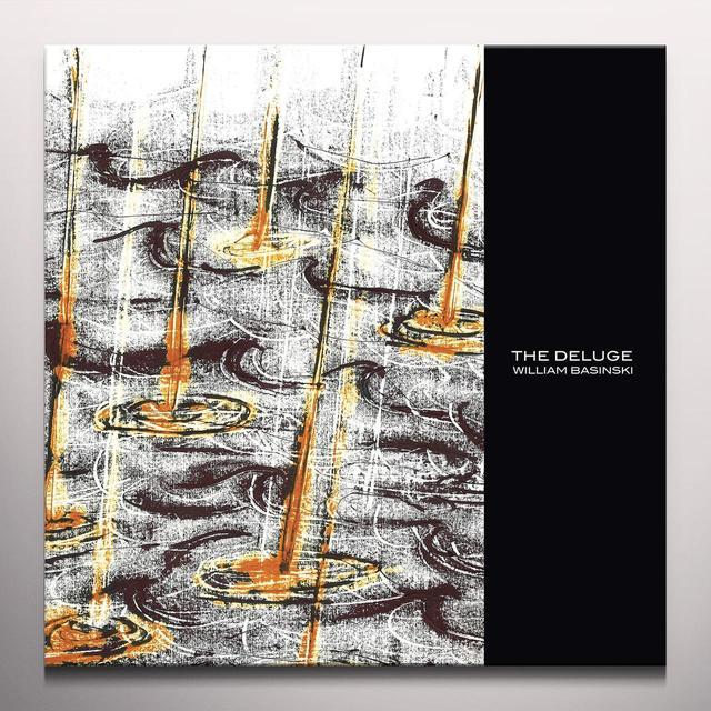 William Basinski DELUGE Vinyl Record - Colored Vinyl, 180 Gram Pressing, White Vinyl