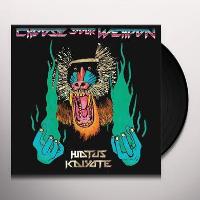Hiatus Kaiyote CHOOSE YOUR WEAPON Vinyl Record - UK Import