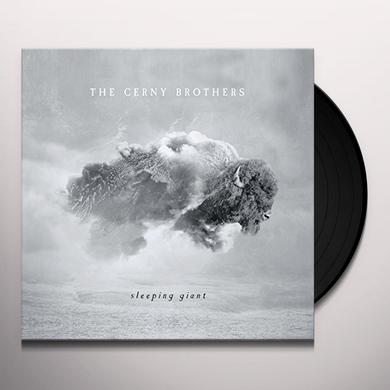 CERNEY BROTHERS SLEEPING GIANT Vinyl Record - Canada Release