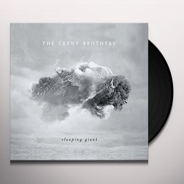 CERNEY BROTHERS SLEEPING GIANT Vinyl Record - Canada Import