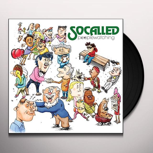 Socalled PEOPLE WATCHING Vinyl Record