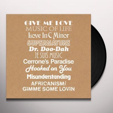 Cerrone GIVE ME REMIXES (BONUS CD) Vinyl Record - UK Release