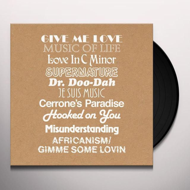 Cerrone GIVE ME REMIXES (BONUS CD) Vinyl Record - UK Import