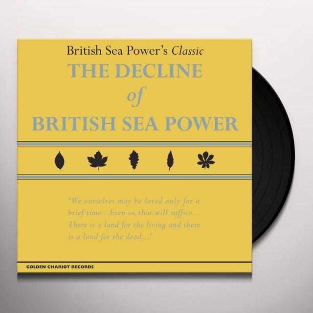 DECLINE OF BRITISH SEA POWER Vinyl Record