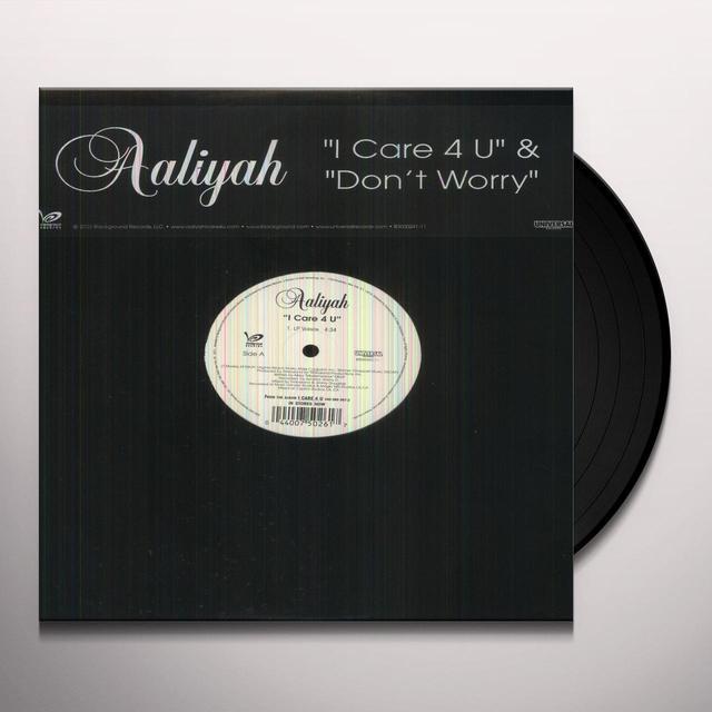 Aaliyah I CARE 4 U Vinyl Record - Canada Import