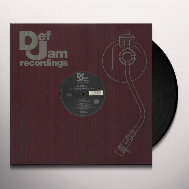 L.L. COOL. J AMAZIN' Vinyl Record - Canada Import