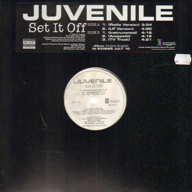Juvenile SET IT OFF Vinyl Record