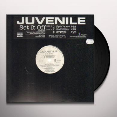 Juvenile SET IT OFF Vinyl Record - Canada Import