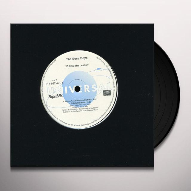 Soca Boys FOLLOW THE LEADER Vinyl Record - Canada Import