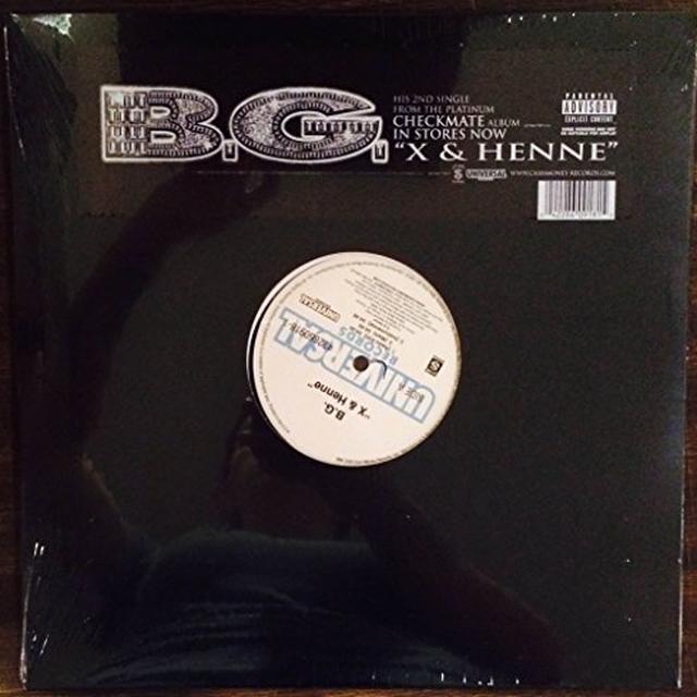 B.G. X & HENNE Vinyl Record