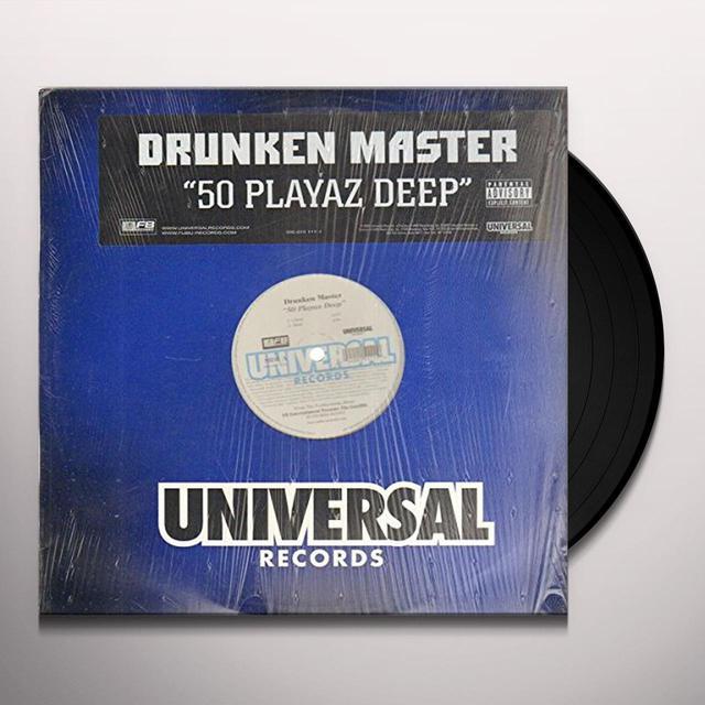 Drunken Master 50 PLAYAZ DEEP Vinyl Record