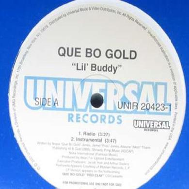 QUE-BO GOLD LIL' BUDDY Vinyl Record