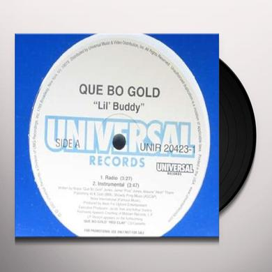 QUE-BO GOLD LIL' BUDDY Vinyl Record - Canada Import