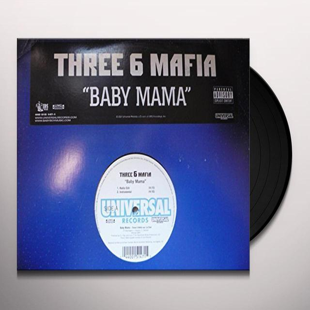 Three 6 Mafia BABY MAMA Vinyl Record