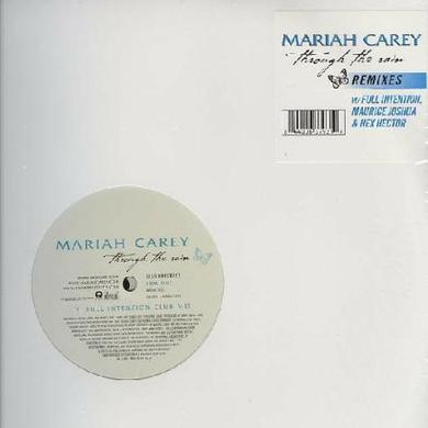 Mariah Carey THROUGH THE RAIN Vinyl Record
