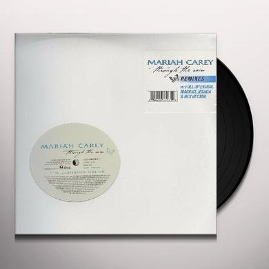 Mariah Carey THROUGH THE RAIN Vinyl Record - Canada Import