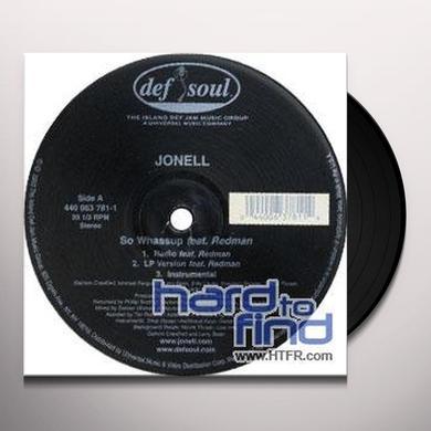 Jonell SO WHASSUP Vinyl Record - Canada Import