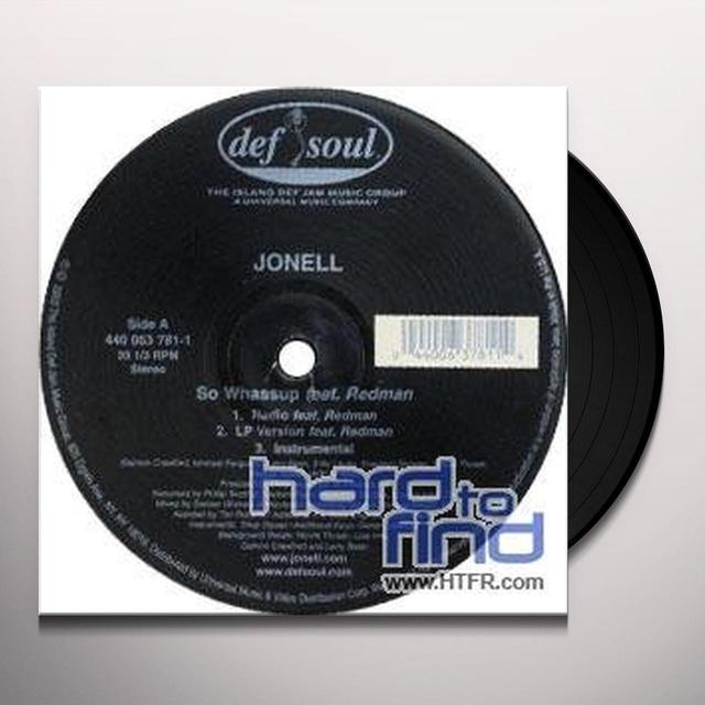 Jonell SO WHASSUP Vinyl Record