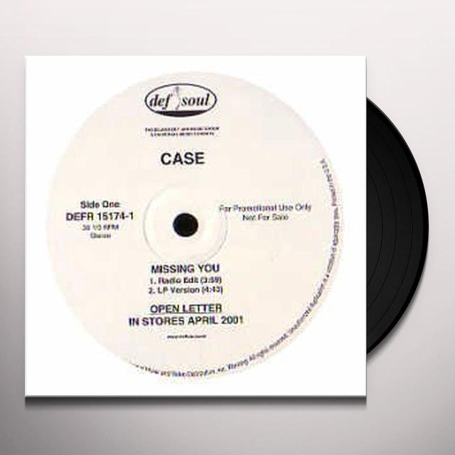 Case MISSING YOU Vinyl Record - Canada Import