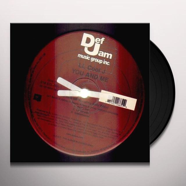 Ll Cool J YOU & ME Vinyl Record - Canada Import