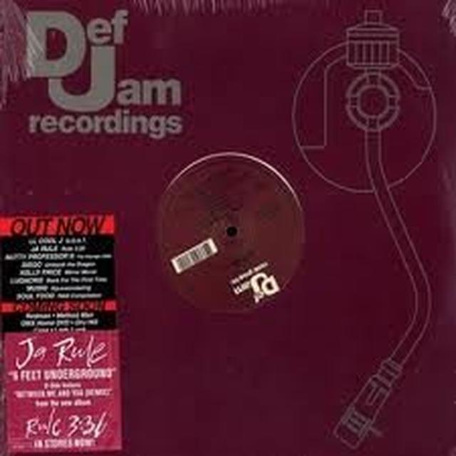 Ja Rule 6 FEET UNDERGROUND Vinyl Record