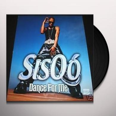Sisqo DANCE FOR ME Vinyl Record - Canada Import