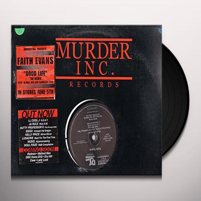 Faith Evans GOOD LIFE Vinyl Record - Canada Import