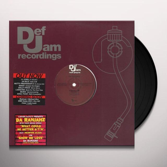 Da Ranjahz SHOW ME LOVE Vinyl Record - Canada Import